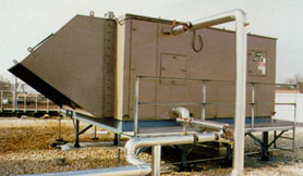 Air Handlers for 100% Outside Air Steam Systems